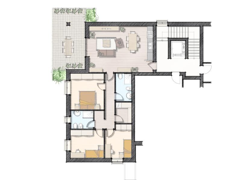 Appartamento Verona Residenza Adige Parco